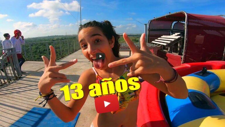 El cumpleaños de Brisa en el parque Acuático Inbursa MEXICO