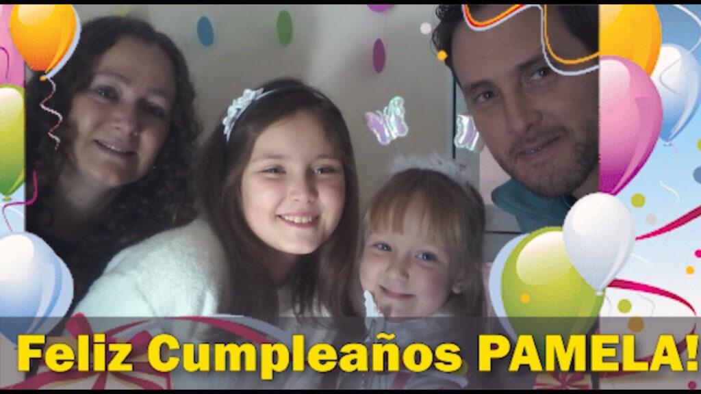 Feliz Cumpleaños Pamela